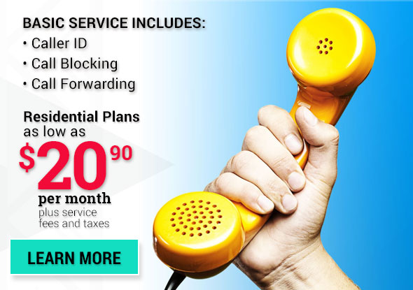 Phone Service as low as $20.95 per month